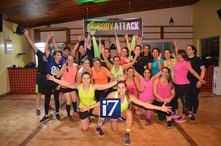 Aulas de Body Attack, Power Jump e Dan�a Fitness